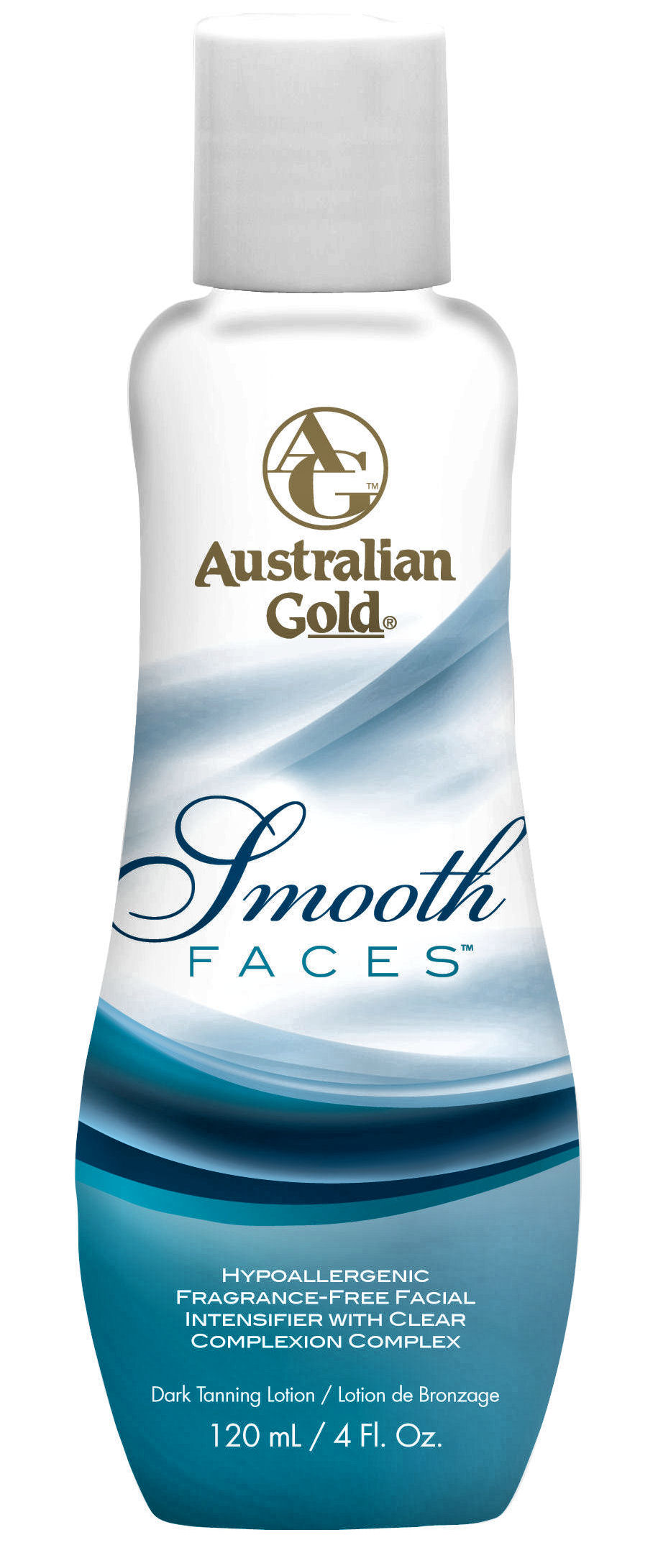 Bella Tan Australian Gold Smooth Faces Hypoallergenic Facial Intensifier Face and Leg Lotions